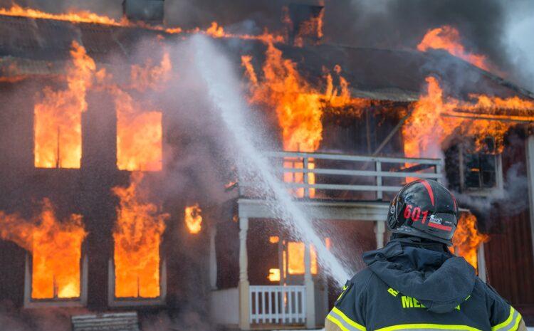 Quanti sono stati gli incendi delle case nel 2019?